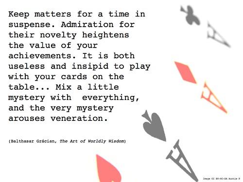 Wednesday Wisdom: the value of novelty