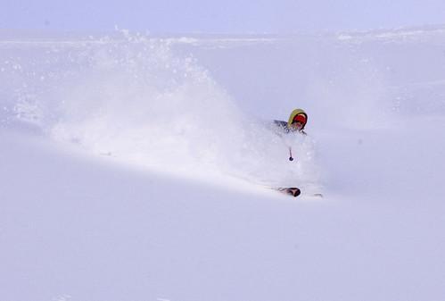 skiing at arctic valley 1/17/10