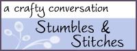 Stumbles & Stitches Button
