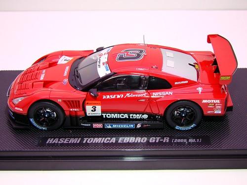 EBBRO HASEMI TOMICA EBBRO GT-R 2009 RD 1 (1)