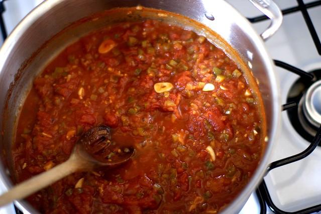 kicky tomato sauce