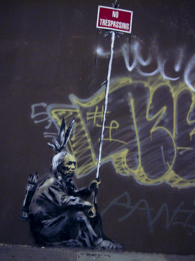 Banksy On Sycamore