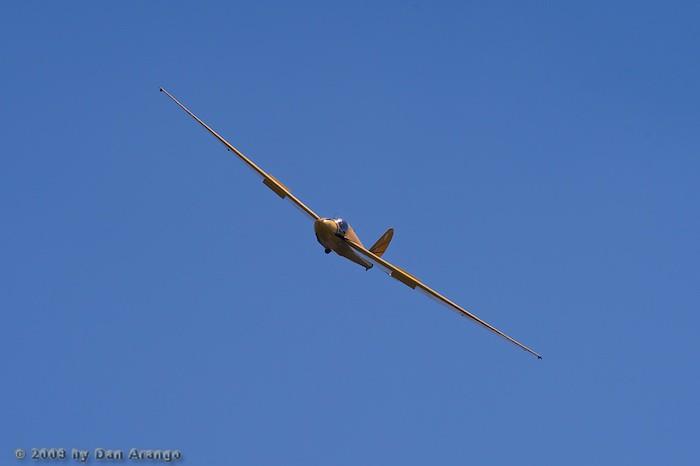 Glider on Final