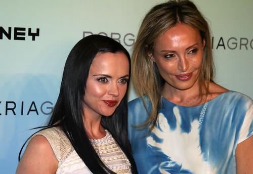 Christina Ricci & Lubov Azria