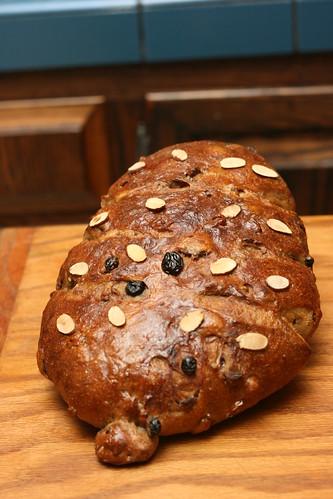 Sourdough Holiday Bread