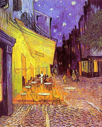VanGogh-Cafe Terrace at Night