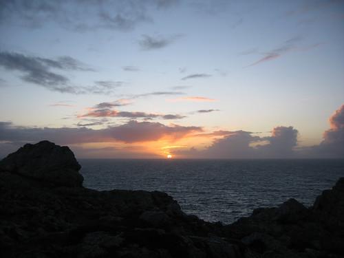 Bout du Monde coucher du soleil