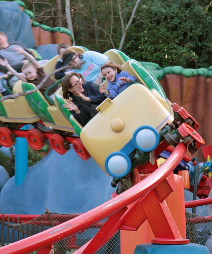 Toontown coaster
