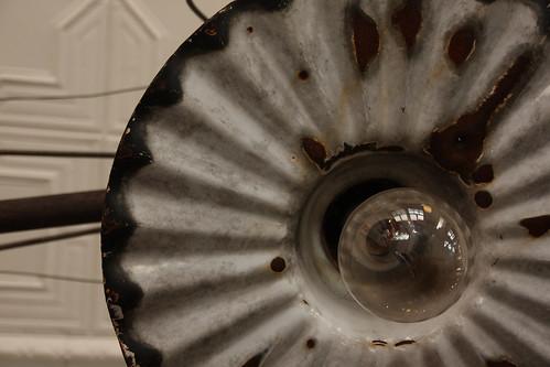 Ye Olde Fire Museum Lamp