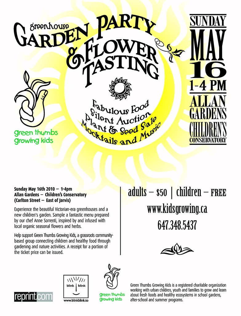 Green Thumbs Fundraising Event