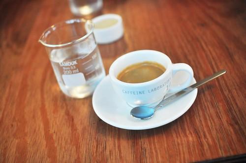 Experimental coffee