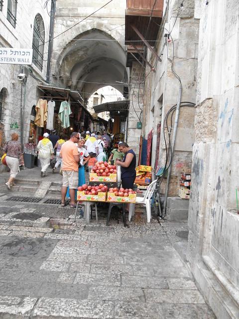 Juice Stand Jerusalem