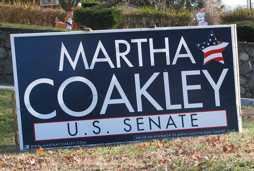 Coakley Senate Sign