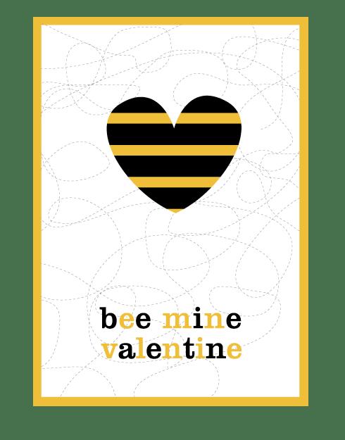 Valentine-Bee