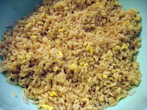 Garlic Fried Rice (in bowl)
