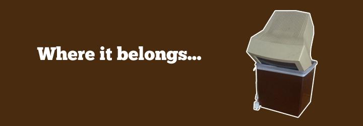 where it belongs