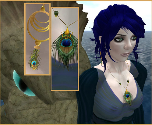 Peacock (with monster in Drowsy sim)