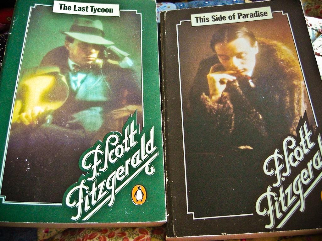 f.scott fitzgerald book covers