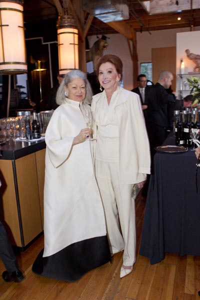 Denise Hale and Ann Getty