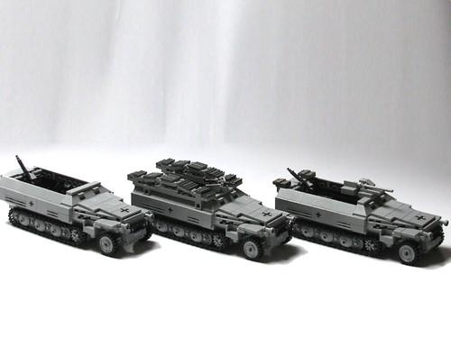 Las nuevas versiones del SdKfz 251 Ausf. D de Panzerbricks