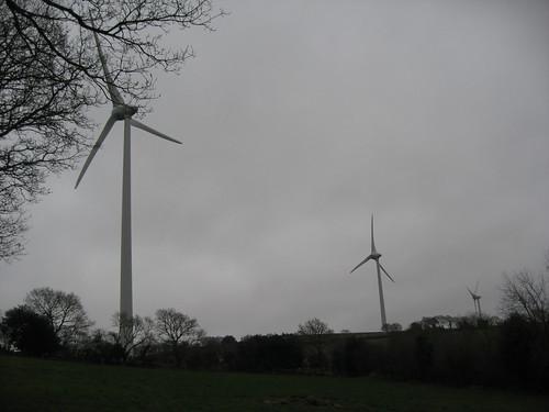 parc éolien de Saint-Coulitz