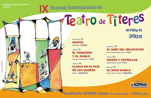 madero festival de titeres 2009