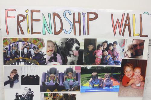 friendship wall