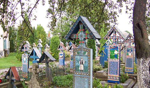 Cementerio Feliz en Maramures