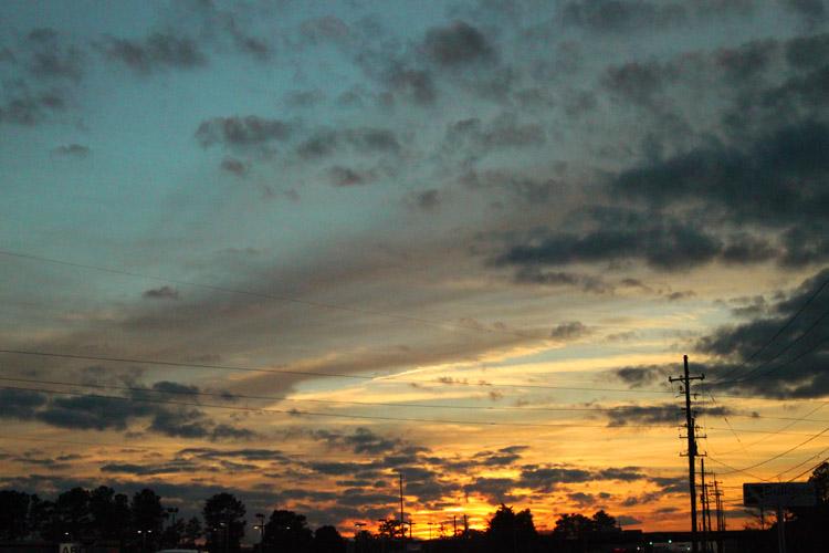 Sunset Sky 020110