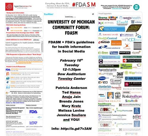 FDASM Campus Forum Feb 16
