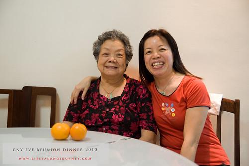 CNY Reunion Dinner 2010 #26
