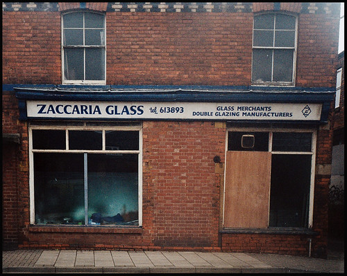 Gainsborough Shopfronts: Zaccaria Glass on North Street