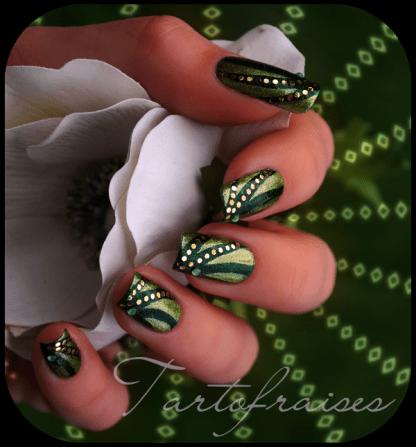 tartofraises nail art