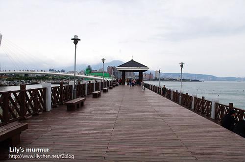 漁人碼頭步道。