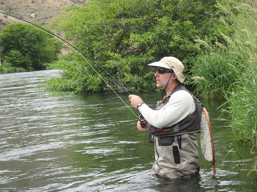 Fish On, Deschutes River Salmonfly Hatch