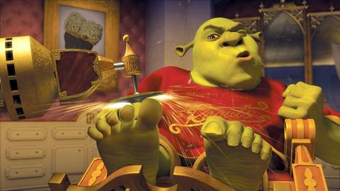 shrek the third SPLASH