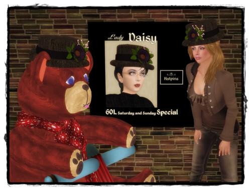 Hatpin - Lady Daisy