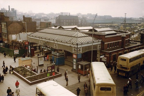 Old railway station Park Street Walsall 1978