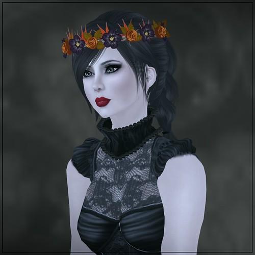 Hatpins - Glenna Wreath October - HDH