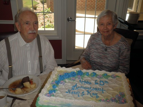 Happy 65th Wedding Anniversary!
