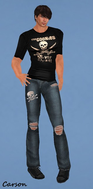 Vicarious Vitae -Goonie's Never Say DieJeans and T-shirt FJH