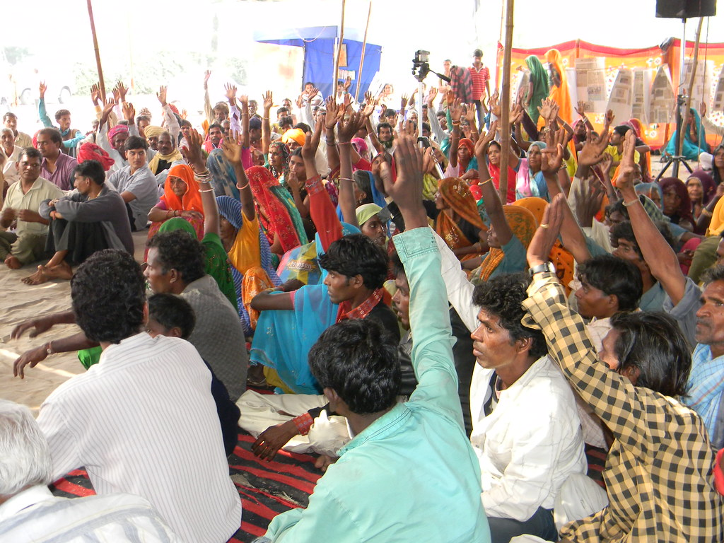 Pics from the satyagraha - 10 Nov 2010 - 1