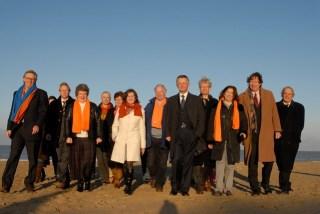 VVD kandidaten - Ben Paulides 2e van rechts