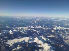 Snow-Covered Rockies
