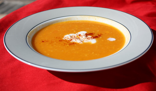 Sweet Potato & Corn Soup
