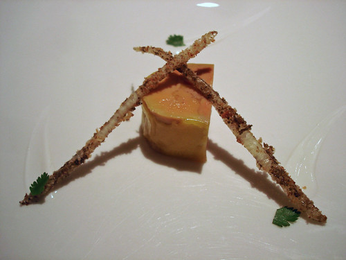 Foie Gras Marinated in Anchovies