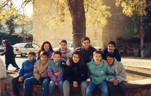 Àlbum Curs 1990-91 i colònies a Castell de l'Areny'91