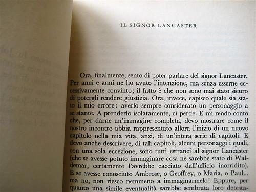 Christopher Isherwood, Ritorno all'ainferno, Garzanti 1965, p. 9 (part.)