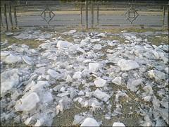 Beijing - broken ice