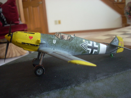 Bf-109 Front Perspective